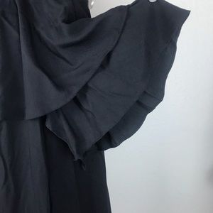 Lulu's Dresses - Lulus Black Off Shoulder Dress With Flutter Sleeve